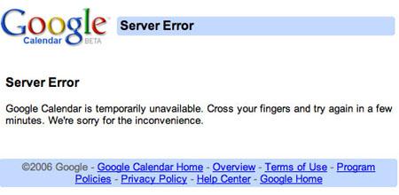 soory page di google calendar